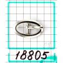 18805 застёжка никель