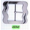 ZX18965 застёжка тём.никель + чёр лак
