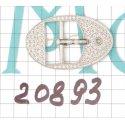 20893 застёжка никель