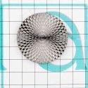 7896 верхняя часть кнопки тём.никель + трёхмерн