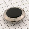 23251 верняя часть кнопки тём.никель + чёр лак